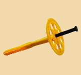 зонт - дюбель - гвоздь для теплоизоляции, крепление пенополистирольных плит, пенопласта